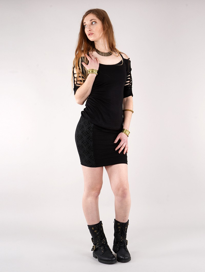 ""\""""Krios Lame"""" middle skirt, Black""800|1060|?|en|2|5d3d3e5a5f15a1d6493842a098530e91|False|UNLIKELY|0.3034965991973877