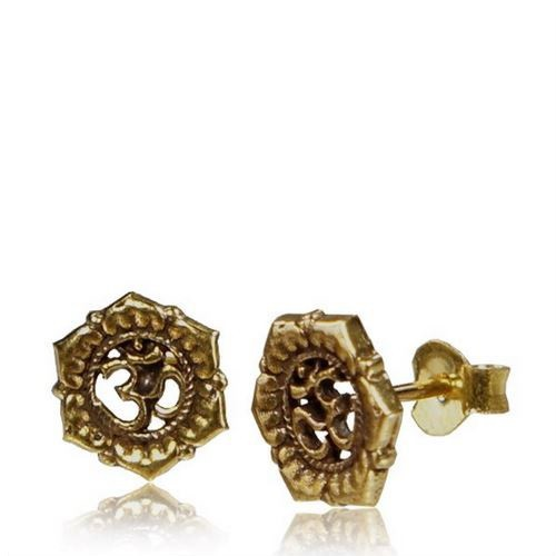 "\""Kukhri Ohm\\\"" earrings"