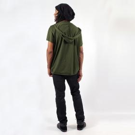 "\""Kusumo\"" t-shirt, Khaki green"