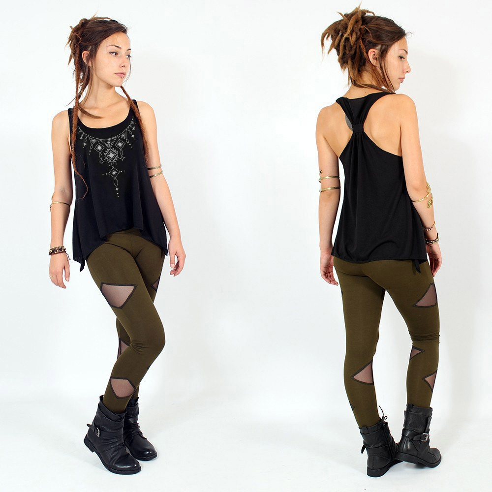 """Kyaani\"" knotted tank top"