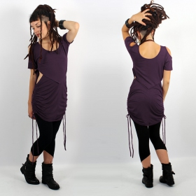 """Laality\"" tunic-dress, Dark purple"