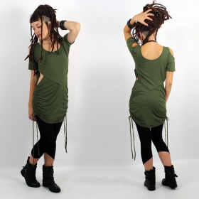 """Laality\"" tunic-dress, Khaki"