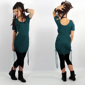 "\""Laality\"" tunic-dress, Teal"