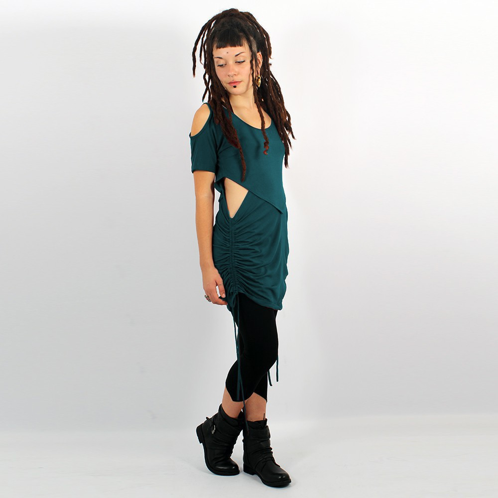 """Laality\"" tunic-dress, Teal"