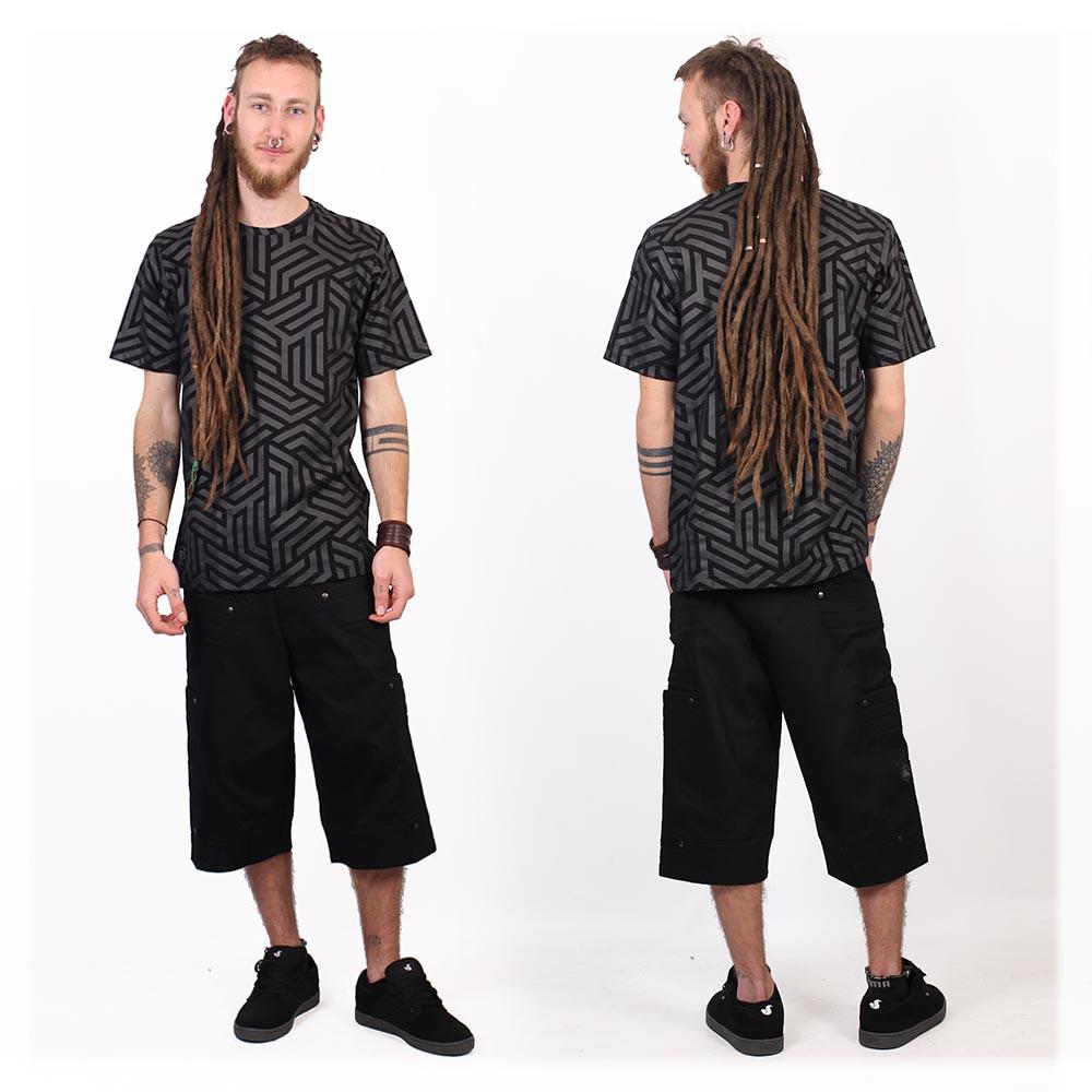 "\""Labyrinth\"" t-shirt, Black"