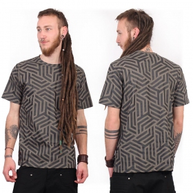 """Labyrinth\"" t-shirt, Grey"