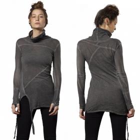 "\""Lakota\"" long sweater, Dark Beige"