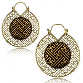 """Lalita\"" earrings"