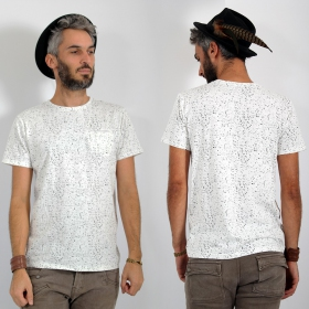 "\\\""Lawan\\\"" t-shirt, White"
