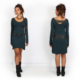 "\""Layläa\"" dress, Dark Teal"