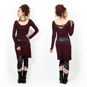 "\""Layläa\"" dress, Wine"