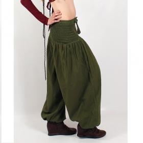 "\\\""Layto\\\"" harem pants, Olive"