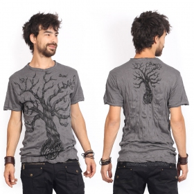 """Leafless Tree\"" t-shirt, Dark grey"
