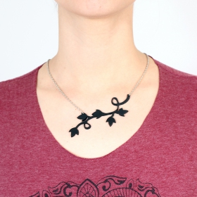 """Lethisia\"" inner tube necklace"