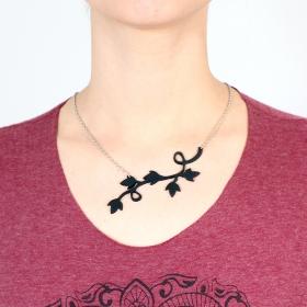 "\""Lethisia\"" inner tube necklace"