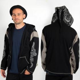 "Light jacket dwarfhood GadoGado \""Turo\"", Black grey"
