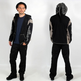 "Light jacket dwarfhood GadoGado ""Turo\"", Black grey"