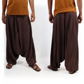 Light sarouel Macha, Brown