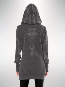 "\""Lilith\"" hoodie, Grey"