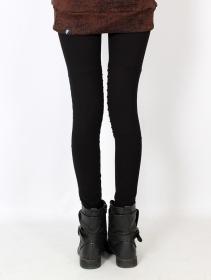 "\""Lilith\"" long leggings, Black"