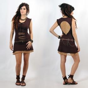 "Liloo Dress \""Jadeite\"", Brown beige"