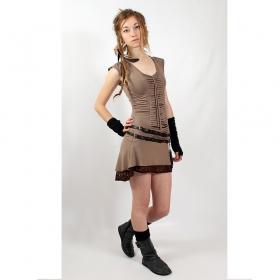 "Liloo Dress \""Jadeite\"", Oackley brown"