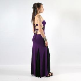 "Liloo Long Dress \""Asymetric\"", Purple"