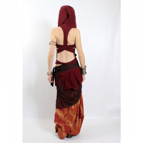 """Liloo Top \""""Lace\"""", Deepred brown"""