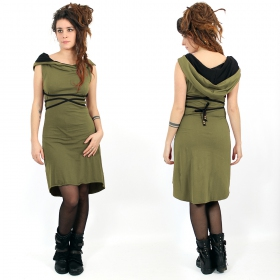 """Liskä\"" short dress, Khaki"