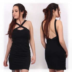 """Lofen\"" sleeveless dress, Black"