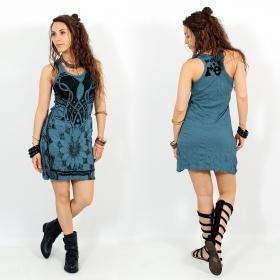 "\\\""Lotus\\\"" dress, Blue"