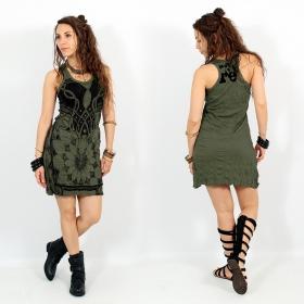 "\\\""Lotus\\\"" dress, Khaki"