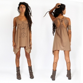 """Lotus\"" knotted tunic"