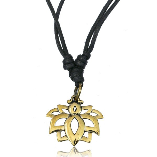 "\""Lotus Sayam\"" necklace"