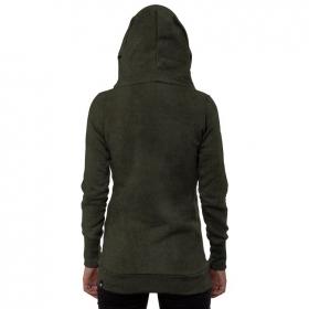 "\""Lovely Reaper\"" hoodie, Khaki wash"