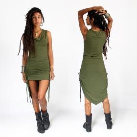 "\""Lychandra\"" long dress, Khaki"