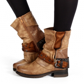 """Lyssana\"" boots, Camel brown"