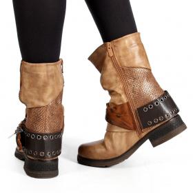 "\""Lyssana\"" boots, Camel brown"