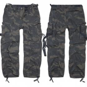 "\""M65 Vintage\"" Surplus combat trousers, Dark camo"