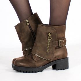 "\""Malaya\"" boots, Brown"