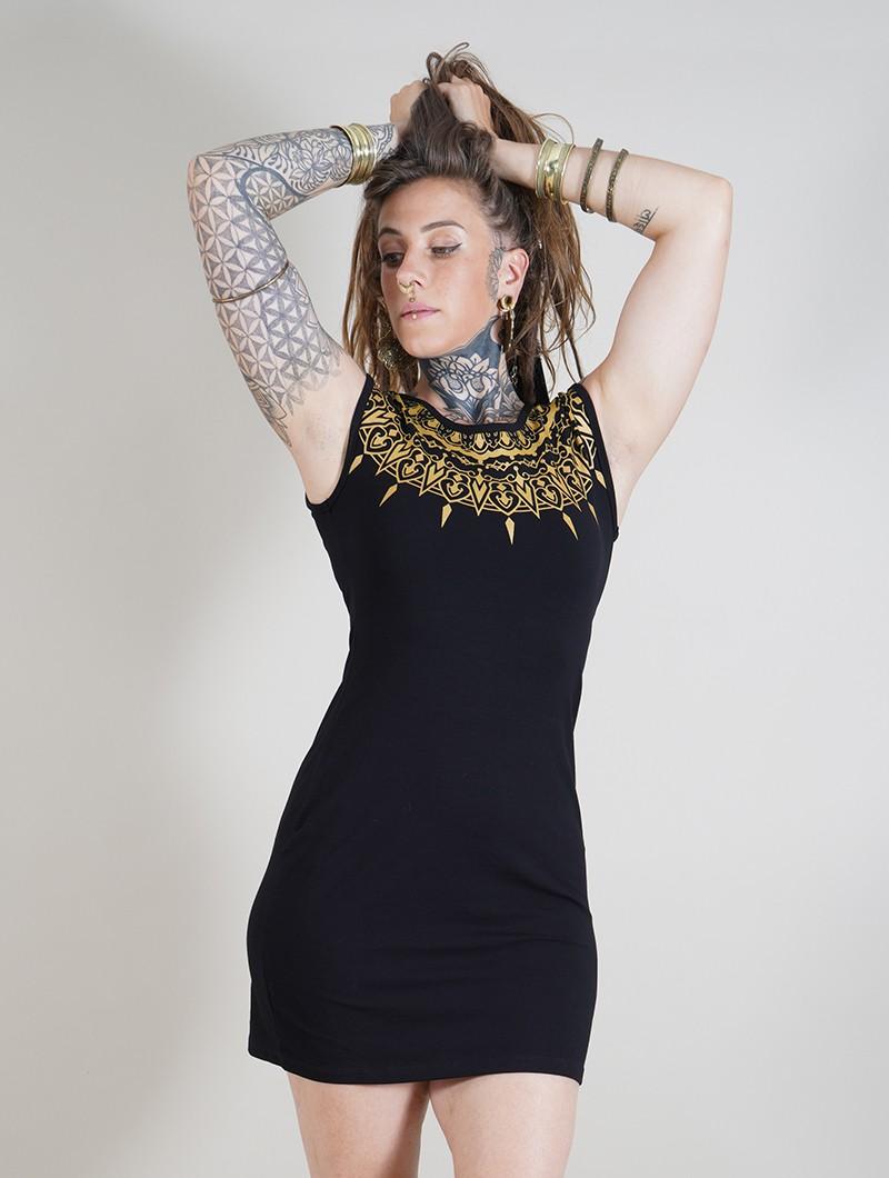 "\""Mandala\"" dress, Black"