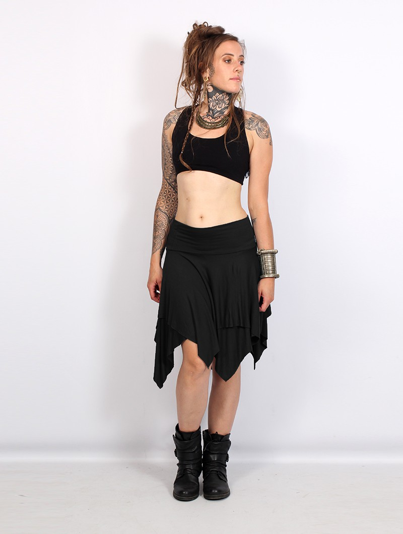 """Manoï\"" 3in1 skirt, Black"
