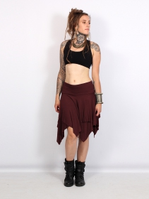 """Manoï\"" 3in1 skirt, Wine"