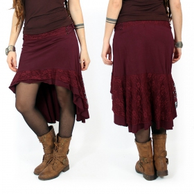 """Manolee\"" Skirt, Wine"