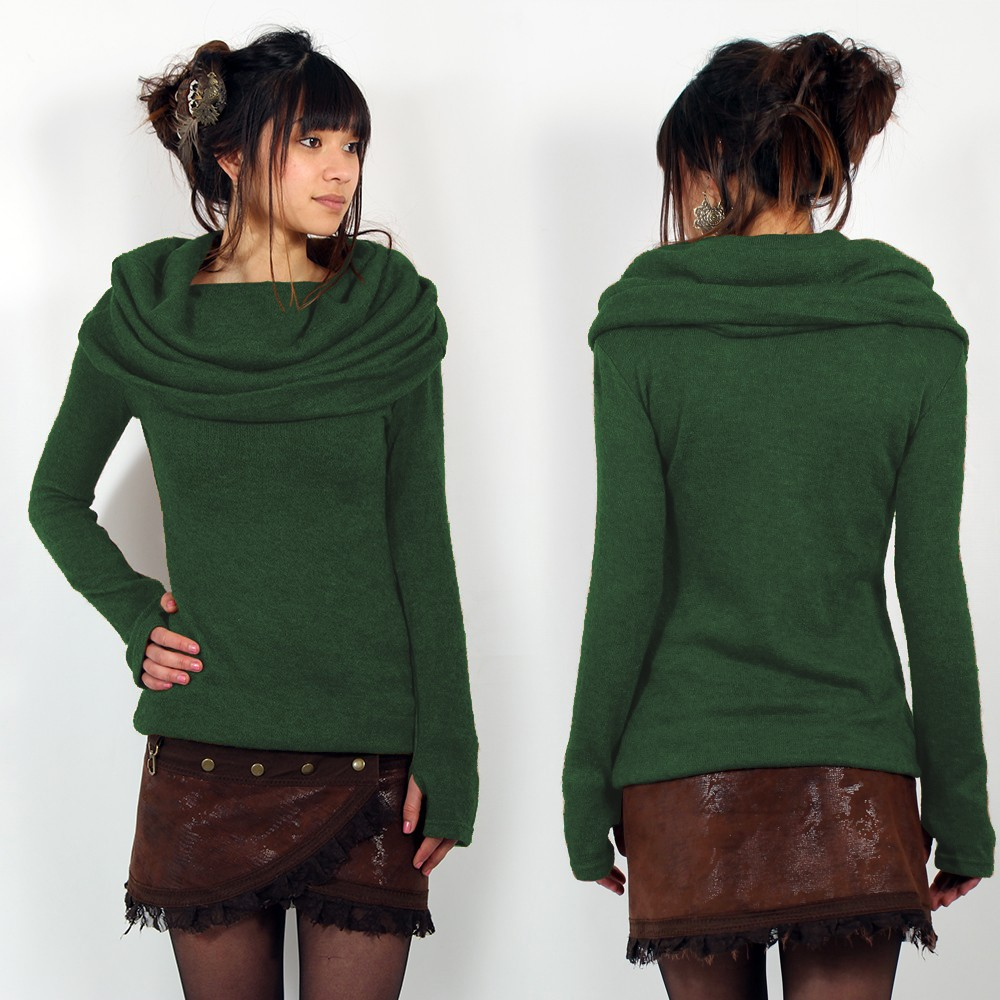 """Mantra\"" pullover, Forest green"