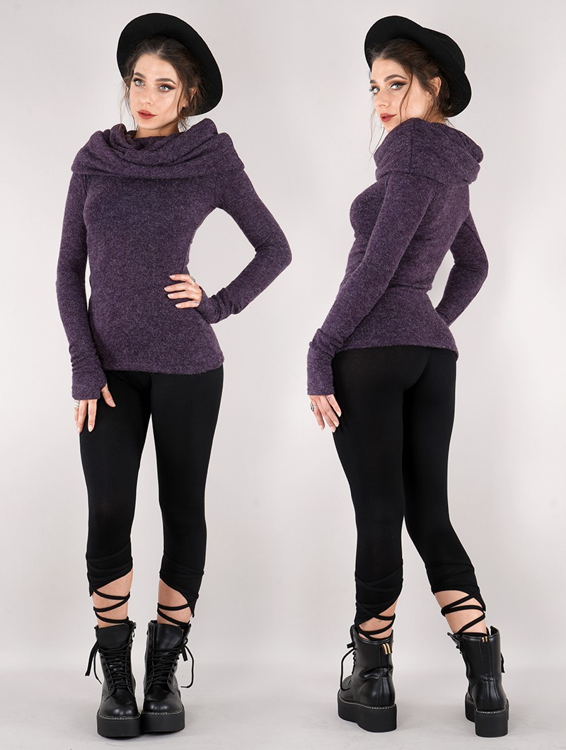"""Mantra\"" pullover, Purple"