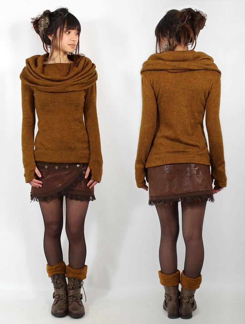 "\""Mantra\"" pullover, Rusty"