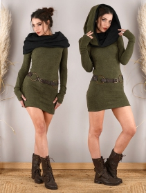 ""\""""Mantra"""" sweater dress, Army green and black""211|280|?|en|2|9f788034ef07bd7c7398cc93958d8361|False|UNLIKELY|0.35818207263946533