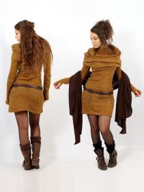 "\""Mantra\"" sweater dress, Rusty"