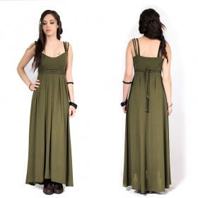 "\""Massaläa\"" long dress, Khaki"